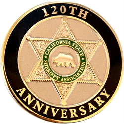 120th Challenge Coin
