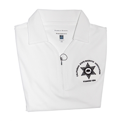 Large Women's Black Polo Shirt