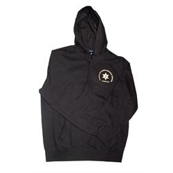 XLarge Full Zip Sweatshirt Black