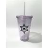 16oz Clear Tumbler Cup